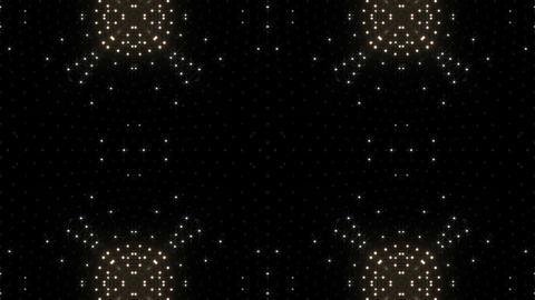LED Kaleidoscope Wall 2 Gs 1 LRW HD Stock Video Footage