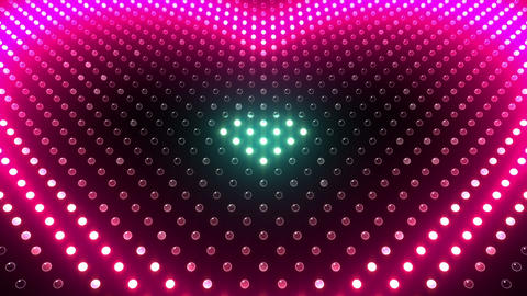 LED Wall 2 Heart G Ac HD Animation