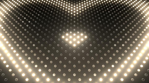 LED Wall 2 Heart G Aw HD Animation