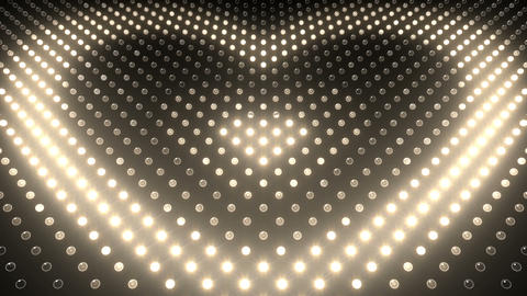 LED Wall 2 Heart G Dw HD Stock Video Footage