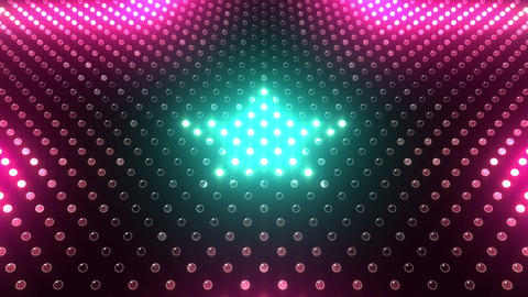 LED Wall 2 Star G Ac HD Animation