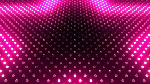 LED Wall 2 Star G Ac HD Stock Video Footage