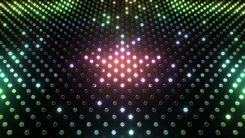 LED Wall 2 Star G Cr HD Stock Video Footage