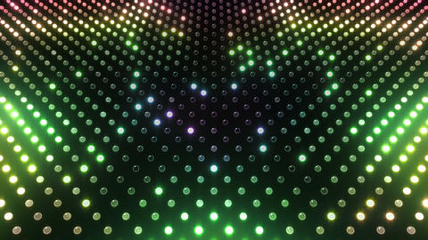 LED Wall 2 Star G Cr HD Animation