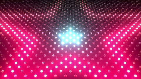 LED Wall 2 Star G Dc HD Stock Video Footage