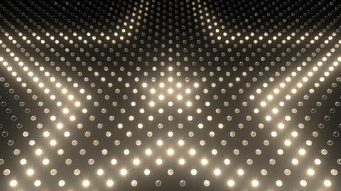 LED Wall 2 Star G Dw HD Stock Video Footage