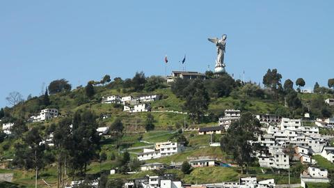 El Panecillo, Quito Footage