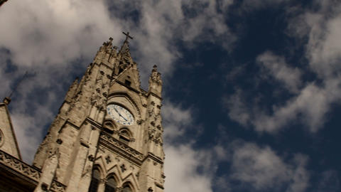 Bell towers of the Basilica of the national vow, Q Stock Video Footage