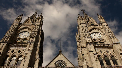 Bell towers of the Basilica of the national vow, Q Footage