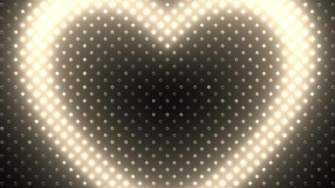 LED Wall 2 Heart B Aw HD Animation