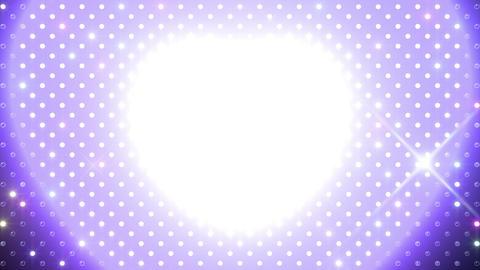 LED Wall 2 Heart B Cr HD Stock Video Footage