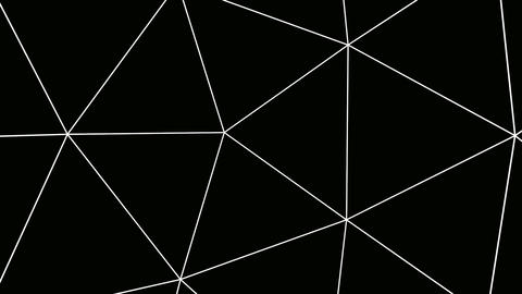 triangle outline Stock Video Footage