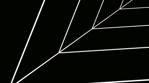 triangle wire tunnel Animation