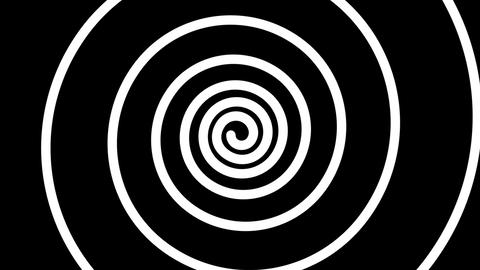 spiral hypnotize Stock Video Footage