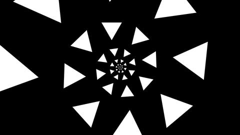 triangle spiral Stock Video Footage