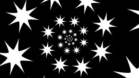 star hypnotize Stock Video Footage