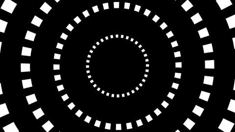 square hypnotize Animation