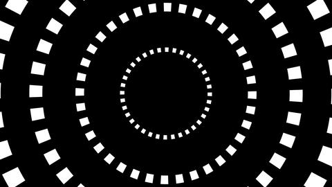 square hypnotize Stock Video Footage