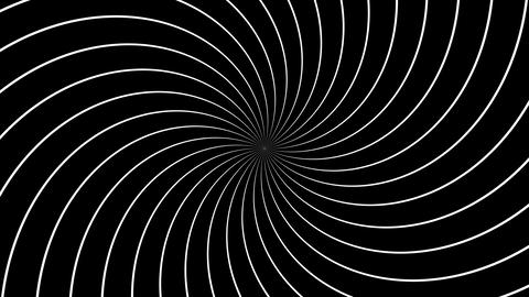 lines hypnotize Animation