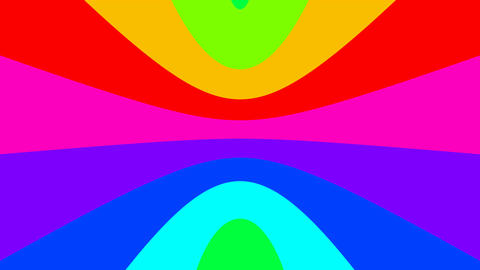 curve rainbow Animation