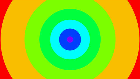 circle rainbow Animation
