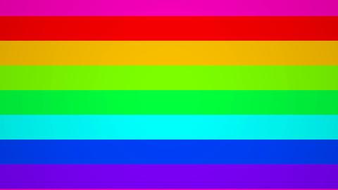 horisontal rainbow Stock Video Footage