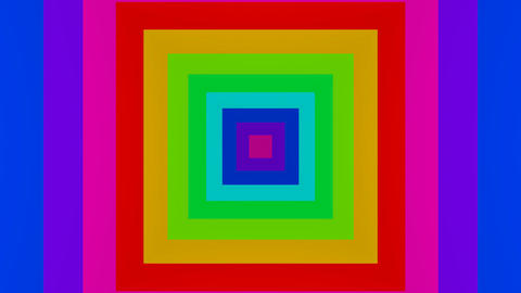 colorfull square Stock Video Footage