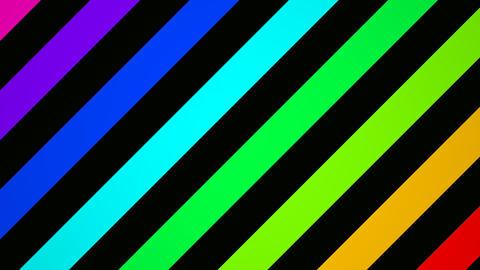 rainbow slant Stock Video Footage