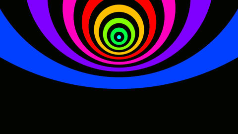 radio wave colours Stock Video Footage