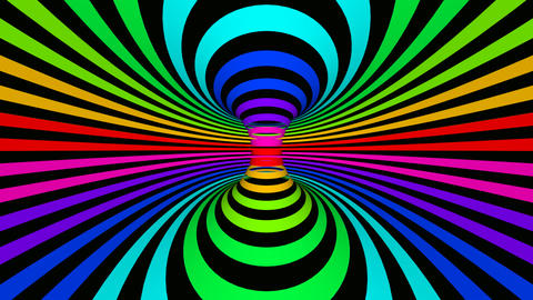 rainbow space Stock Video Footage