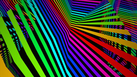 surface stripe colours Stock Video Footage