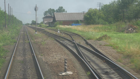 Curved Train Tracks System Live Action