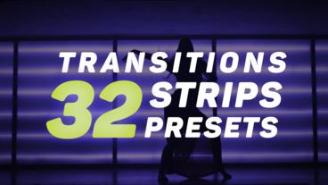Strips Transitions Presets Premiere Pro Effect Preset