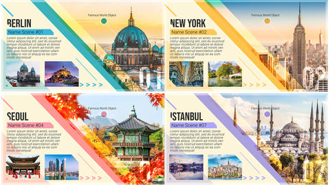 Travel Guide Promo After Effects Template