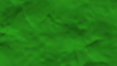 Wavy Fabric Green Animation