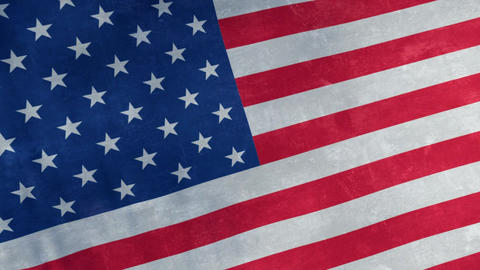 Flag of USA looping background Animation