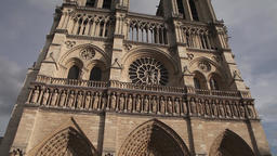 Notre-Dame Cathedral Paris Footage