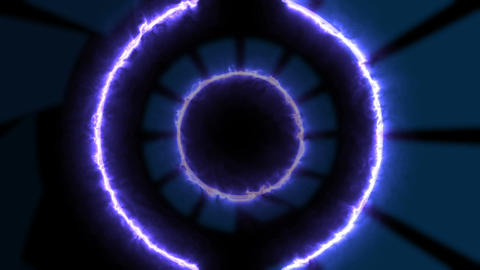 Energy tunnel Animation