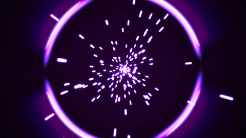 Abstract power tunnel Animation