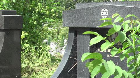 The Jewish cemetery. Varna. Bulgaria Live Action