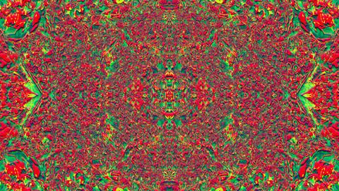 Dreamy kaleidoscope, multi-colored elegant motion background Footage