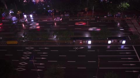 4K Road in Seoul timelapse Live Action