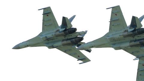 Russian falcons aerobatic team Live Action