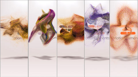 Quick Particles Logo Pack 5 After Effects Template