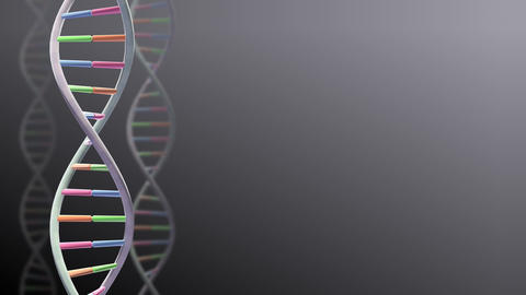 DNA Strand Genome image 3 A1A1 4k Animation