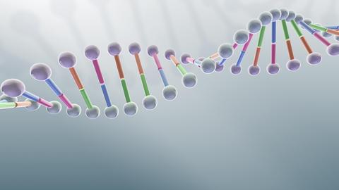 DNA Strand Genome image 3 B1A5 4k Animation