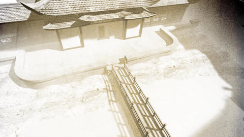 Chinese Inner Courtyard Vintage 5 Animation