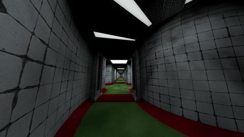 Forsaken Asylum Corridors 4 Animation