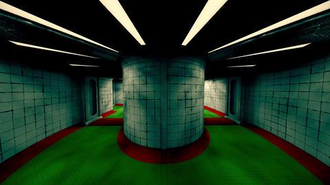 Forsaken Asylum Corridors 3 Animation