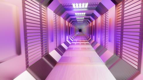 Moving underground Tunnel Animation GIF